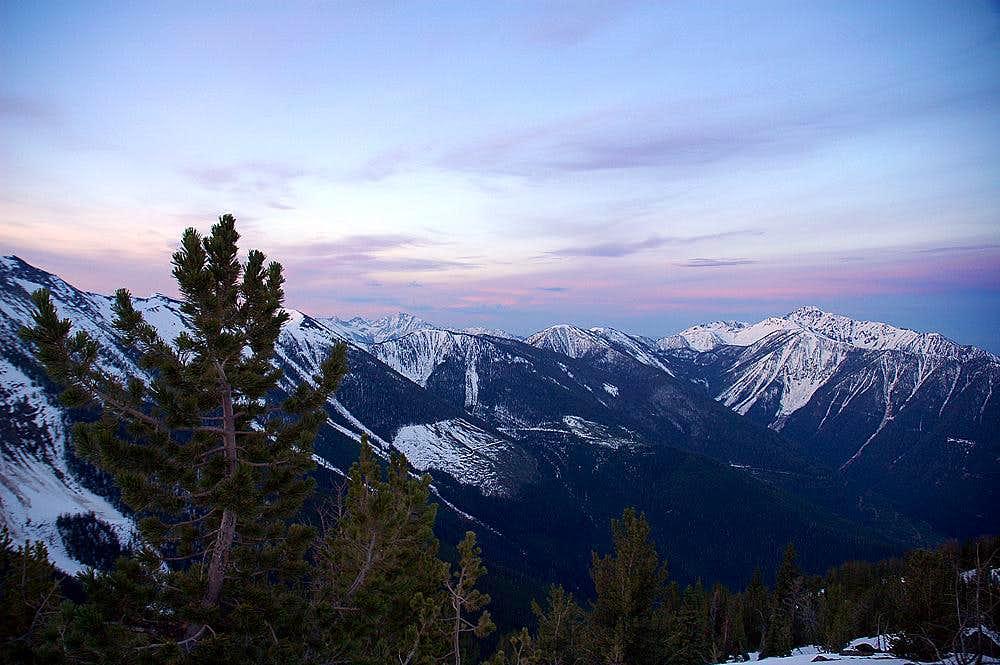 Hughes Range of the Canadian Rockies