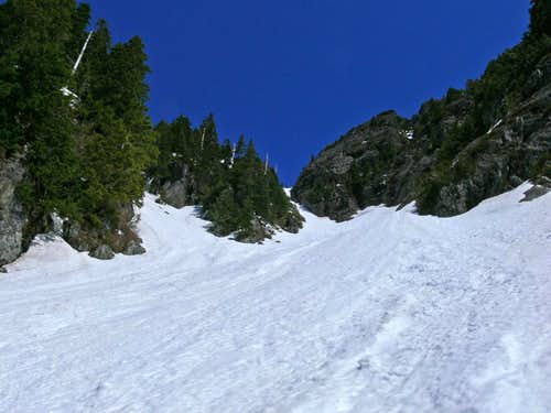 Upper Sky Rocket Couloir