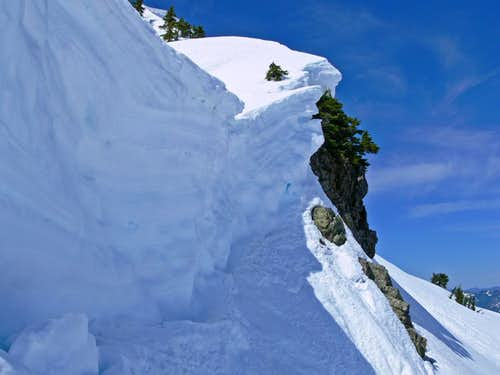 Cornice that I navigated Around
