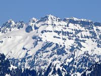 Columbia Peak\'s West Face