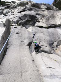 First time on granite