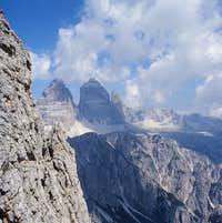 from bonacossa path to tre cime