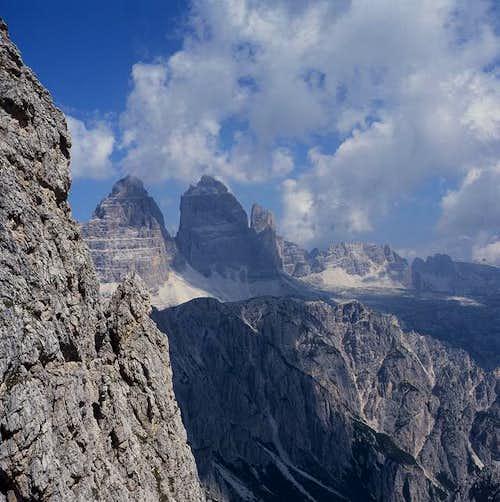 from bonacossa path to tre cime