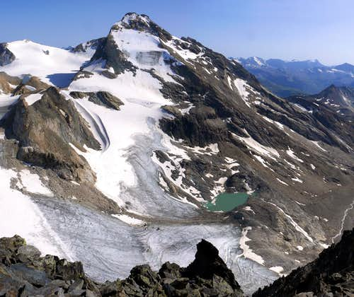 The famous 3.500m in the Aosta Valley and the normal route or no  (Rhêmes Valley)
