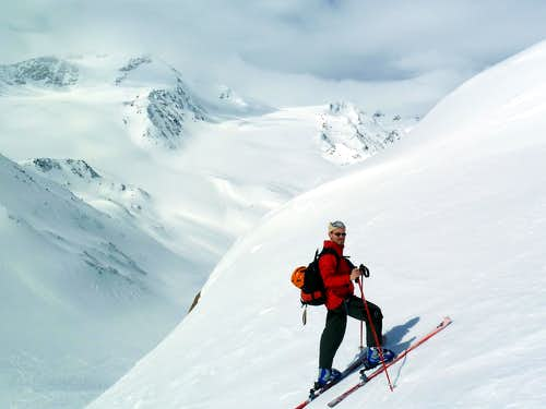 Ski touring in Ortles