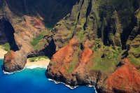 NaPali Coast - Kauai Peaks