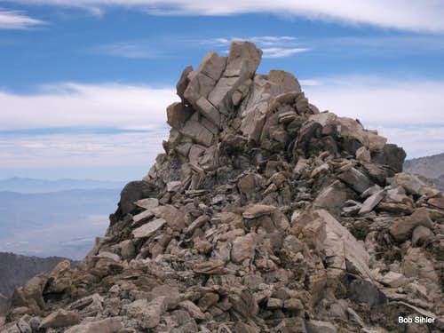 Summit Block of Mount Gould