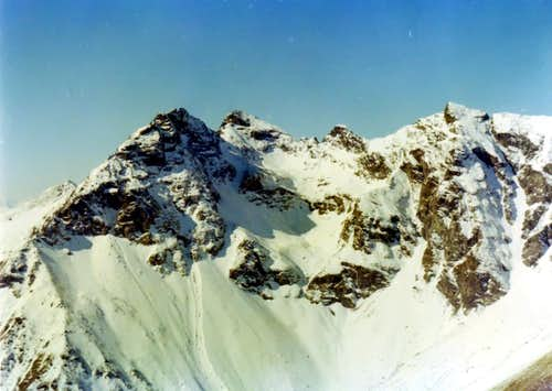 Becchi di Fana Northern Slopes from Grand Pays 1974