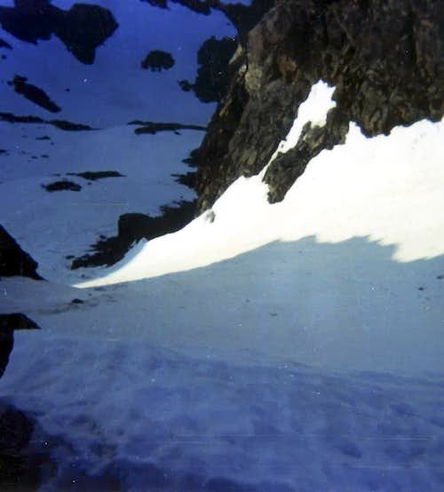 Becchi di Fana North Couloir among Shadow & Sun 1975