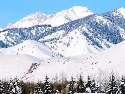 Kent Peak (center) is always...