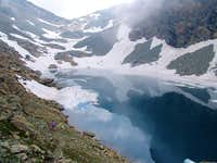 The route to small Envers Pass