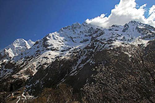 La Meije massif from the NE