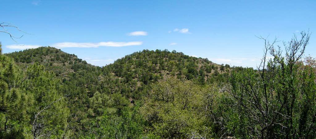 Mitchell Peak AZ