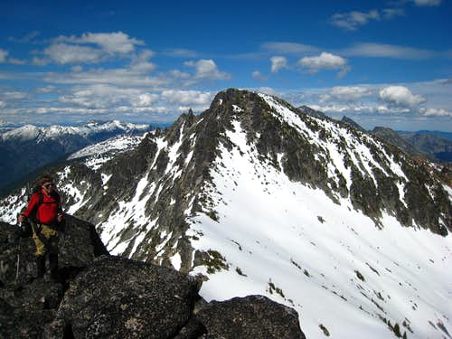 Eightmile Mountain from Point 7,793