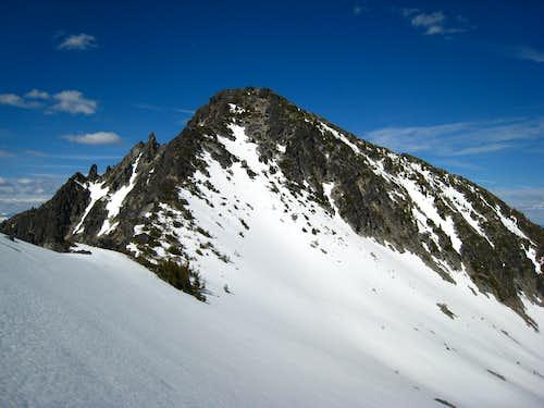 Traversing to Eightmile Mountain