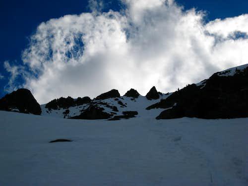 Eightmile Mountain east face