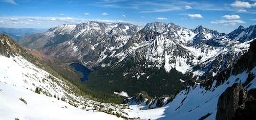 Down to Eightmile Lake