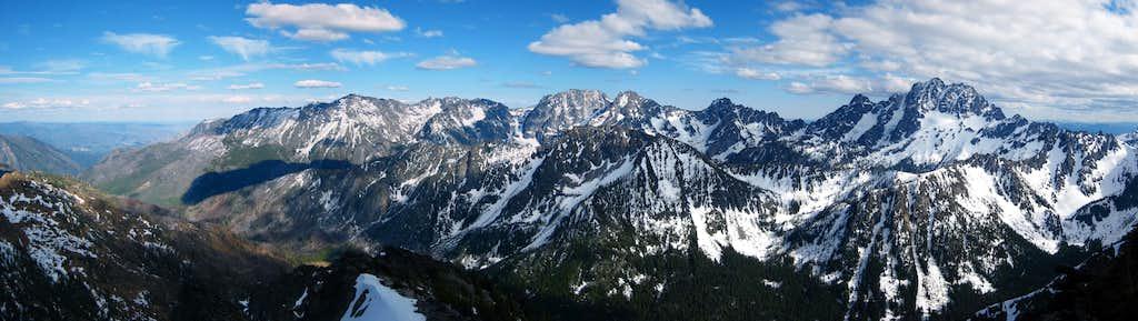 Point 7,793 Summit view