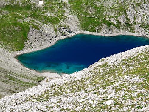 The Butzensee mountain lake
