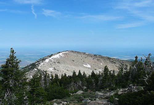 Independence Peak as seen...