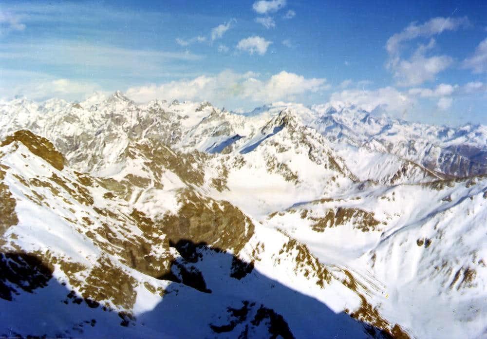 Winter B. of Fana to NE Pennine Alps December 1974
