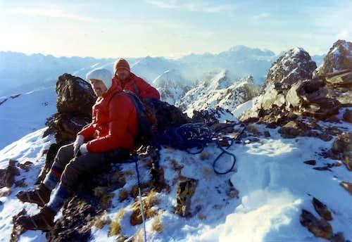 Two Winter Tsaat a l'Etsena from Beaks of Fana 1974