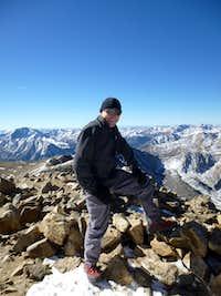 summit of Mount Elbert