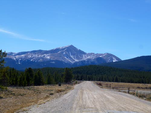leaving Mt. Elbert
