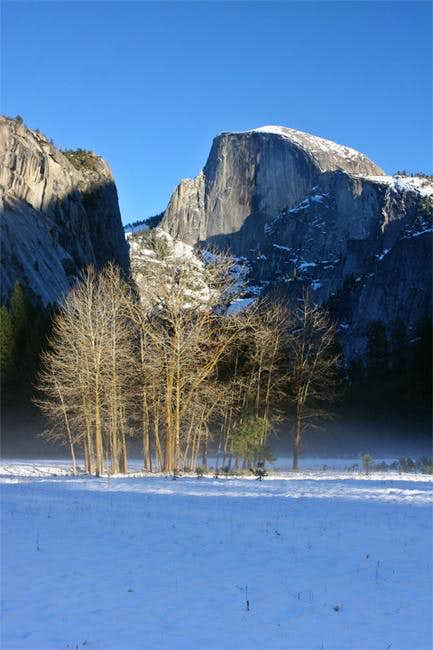 The Valley in the winter -...