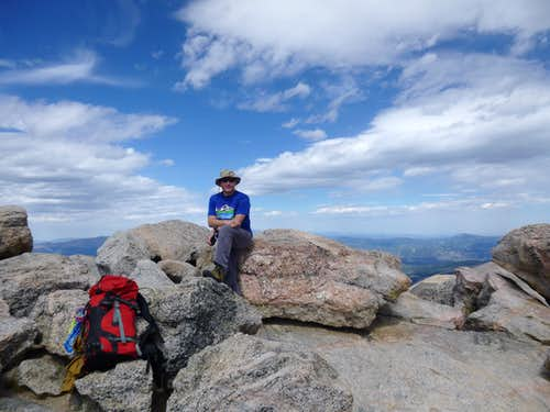 summit of Mount Evans
