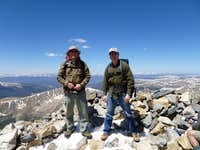 summit of Torreys