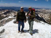 summit of Greys Peak