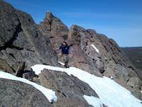 Ridge on Hesse Mnt