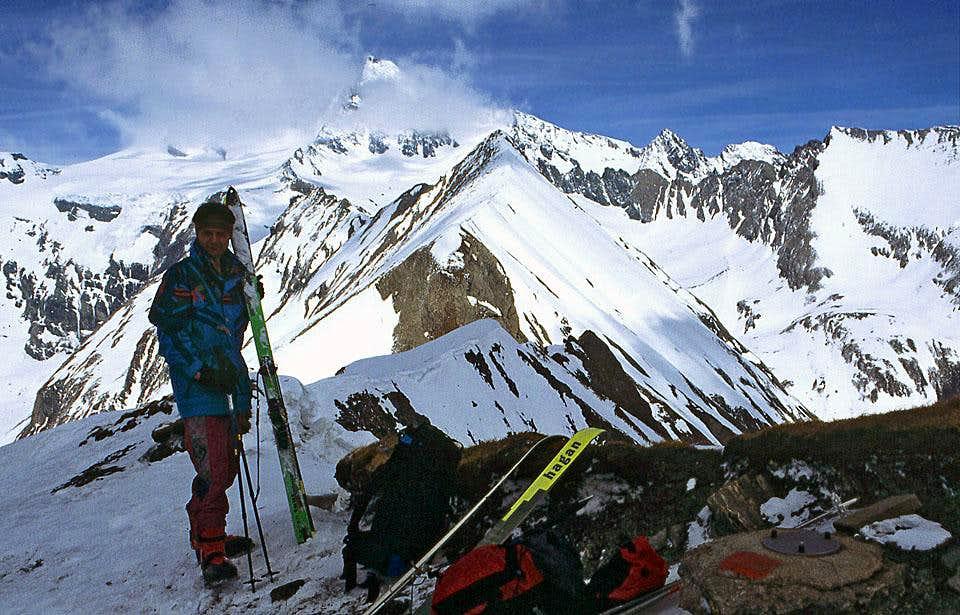 On the summit of Figerhorn