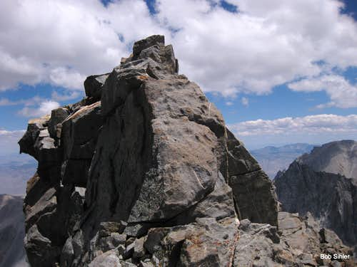Summit Block of Norman Clyde Peak