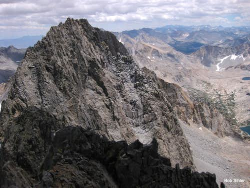 Middle Palisade from Norman Clyde Peak