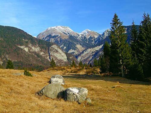 Tosc and Veliki Draski vrh from Voje