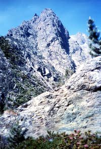 The watershed from Monte Iverta to Bec l Espic 1987