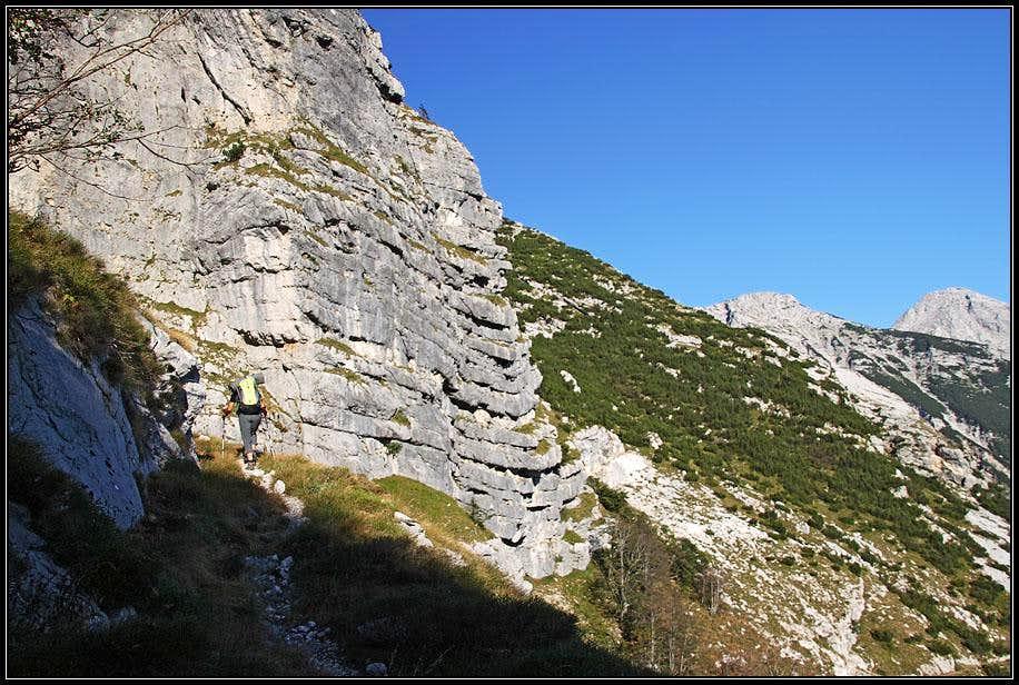 By the rocks of Mahavscek