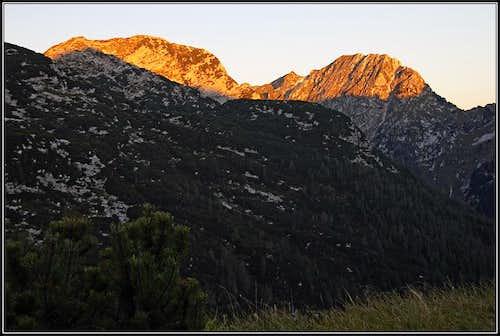 Evening on Prehodci pass