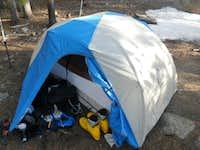 Mount Elbert Base Camp