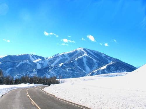 Baldy from Sun Valley.