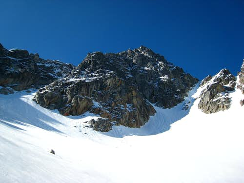 At the base of Argonaut N face