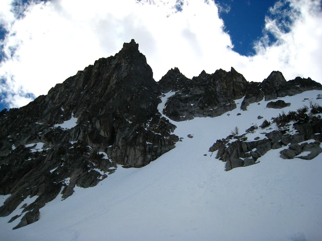 Argonaut East gully