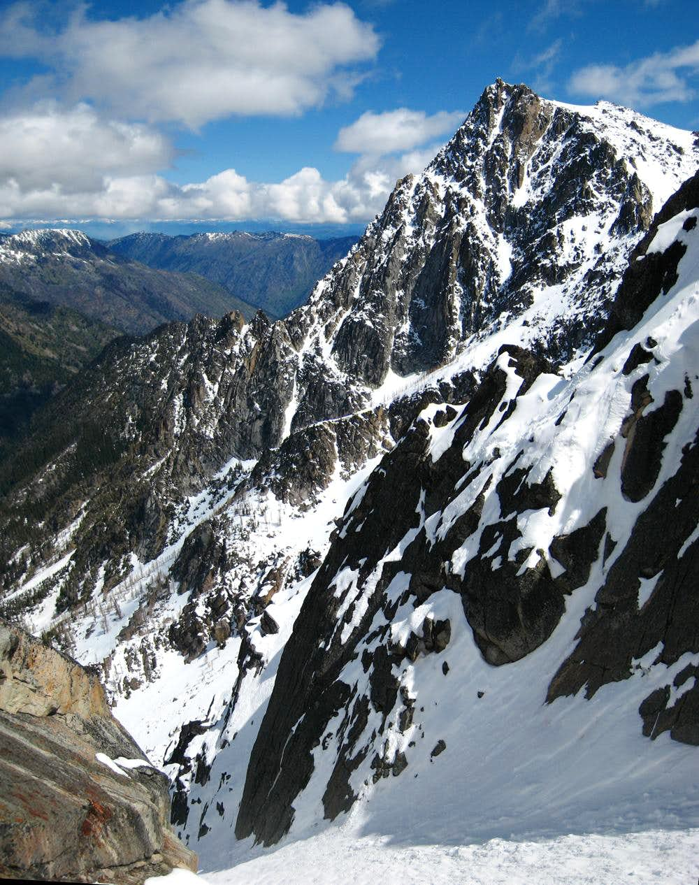Colchuck Peak and the NE Couloir
