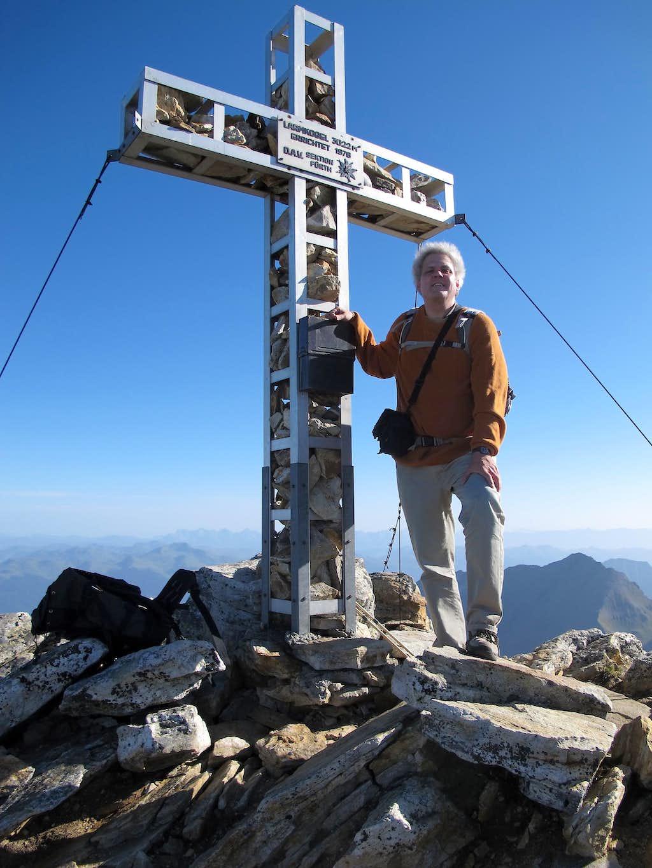 Me on the summit of Larmkogel