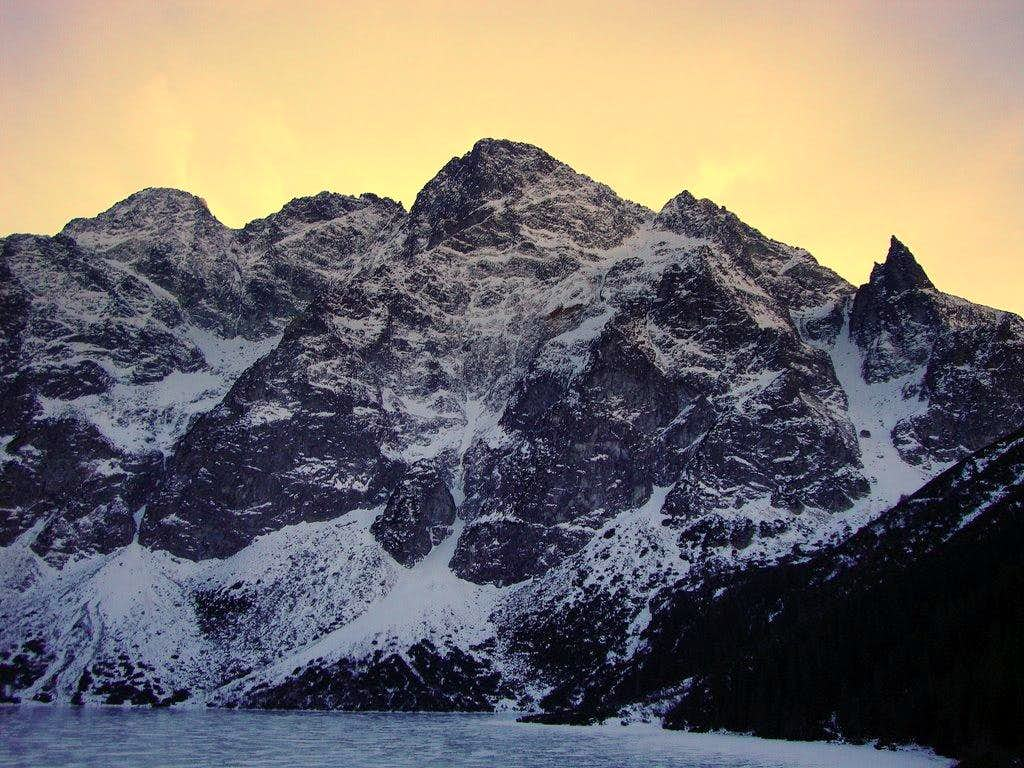 View from Morskie Oko