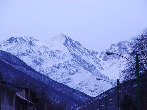 view from Roudbarak village....