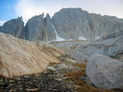 North Peak as seen on the...