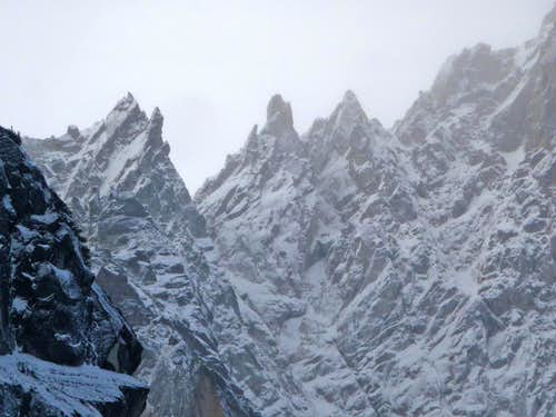 The Rugged Spires of Colchuck Peak